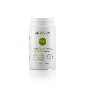 Organic Olive Leaf Capsules - Gélules de feuilles d'olivier bio - Bio Olivenblätter Kapseln