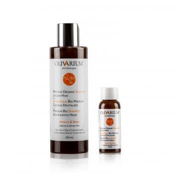 Premium Organic Shampoo Lifeless Hair - Shampooing bio premium cheveux dévitalisés - Premium Bio Shampoo strapaziertes Haar
